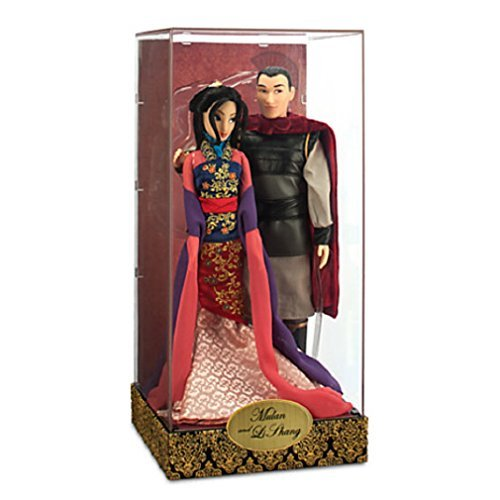 Disney -Mulan and Li Shang Doll Set - Disney Fairytale Designer Collection - NEW]()