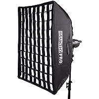 StudioPRO Professional Quality 36in x 48in Grid Softbox with Bowens Speedring Monolight Photo Studio Strobe Flash Lighting Light Modifer Diffuser