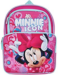 Disney Minnie Mouse 16 Cargo Backpack Bag with Pencil Case Set