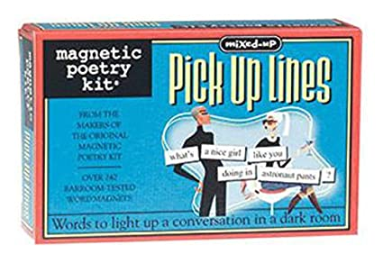 magnetic poetry mixed up pick up lines kit words for refrigerator write