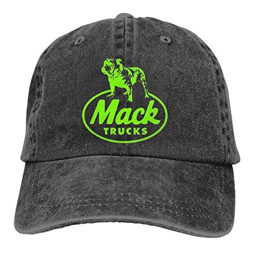 Causal Unisex Baseball Hat Mack Trucks Adjustable Fashion Denim Cap]()