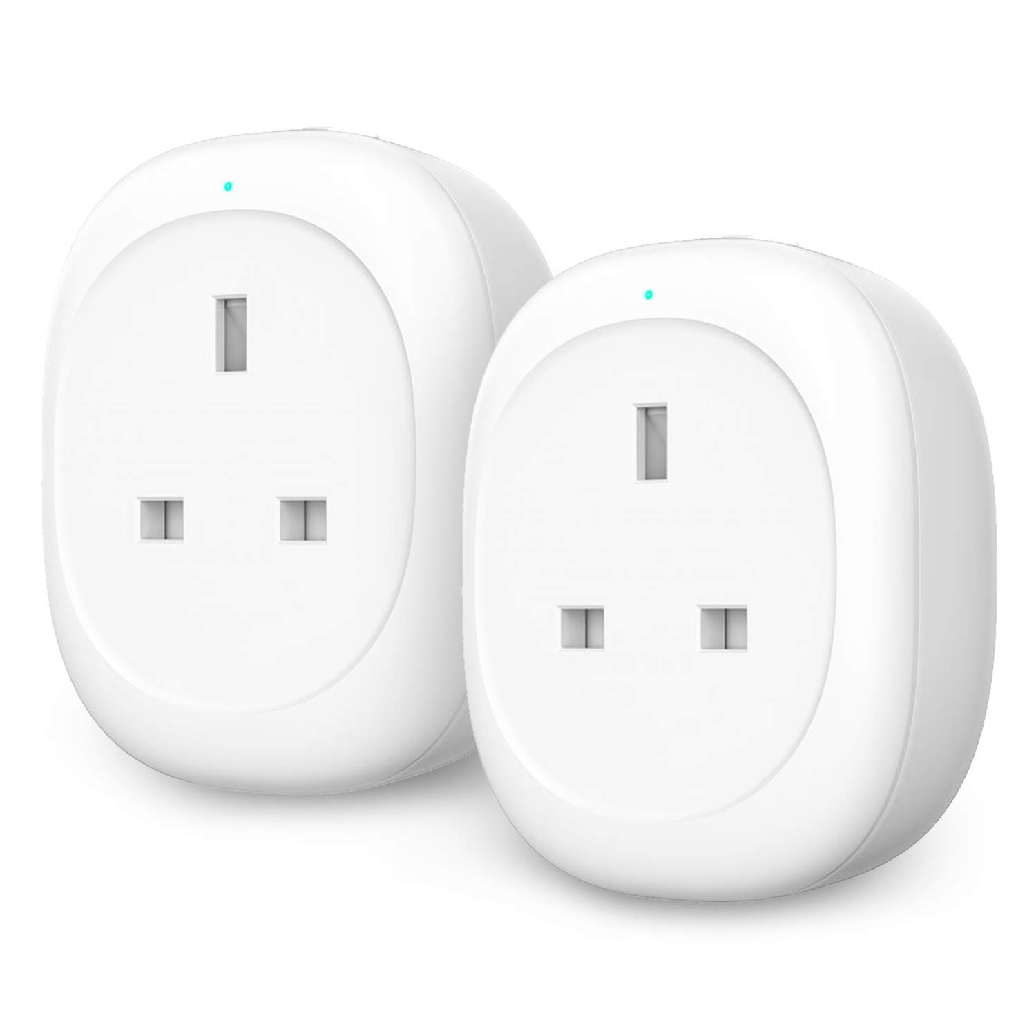 WiFi Smart Plug, Maxcio Smart Alexa Plug with Energy Monitoring, App Remote Control and Timer Function, Compatible with Alexa, Google Home and IFTTT, No Hub Required (1 Pack)