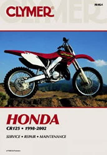 m464 clymer honda cr125 1998 2002 motorcycle repair manual rh amazon com Honda Motorcycle Repair Guide Honda Motorcycle Shop Manuals