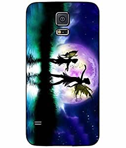 Fairies Dancing in the Sky TPU RUBBER SILICONE Phone Case Back Cover Samsung Galaxy S5 I9600