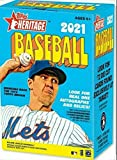 2021 Topps Heritage Baseball Factory Sealed Blaster