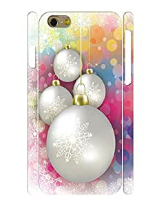 Protective Bumper Especially For Iphone 6£¬Charming Bell Graphic Holiday Theme Back Case for Iphone 6 (4.7 Inch)