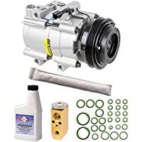AC Compressor & A/C Repair Kit For Kia Sorento 2003 2004 2005 2006 w/Receiver Drier Expansion Valve PAG Oil & O-Rings - BuyAutoParts 60-80362RK New