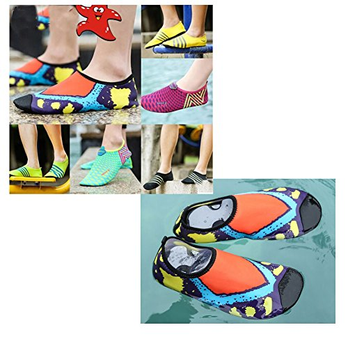 Chaussures Antidérapantes Douces Pieds Nus Hommes Snorkel Fin Chaussettes Pour La Plongée Sous-marine, 11