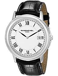 Raymond Weil Mens 54661-Stc-00300 Quartz Stainless Steel White-Dial Watch