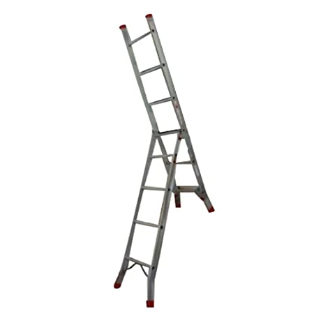 Delicieux Big Red Foot 3 Way Combination Ladder/Ladders (Stair/Step/Extension)
