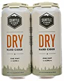 Seattle Cider, Cider Dry Hard, 4pk, 16 Fl Oz