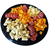 Mancave Ultimate Mens Cheese & Sausage Gift Basket - features Summer Sausages, 100% Wisconsin Cheeses and Crackers | Great for gifts!
