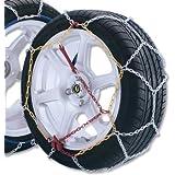 ALEKO® Size 60 Pair of High Quality Passenger Car Snow Chain 12mm