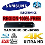 Samsung 3D Bluray BD H6500 Smart UHD 4K Upscaling Player with Built-in WiFi (2017 Model)
