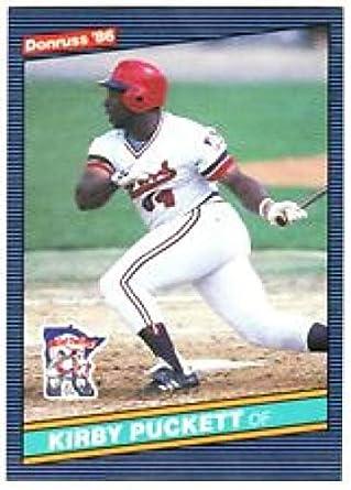 cheap for discount d45c1 40ef7 1986 Donruss Kirby Puckett Minnesota Twins Baseball Card  72