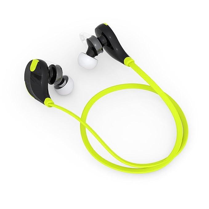 Happy Sport - Auriculares inalámbricos de Silicona con Bluetooth ...