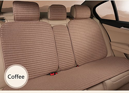 Empire Car Covers: INCH EMPIRE-1509 Linen Car Seat Cushions 10 Pcs Set