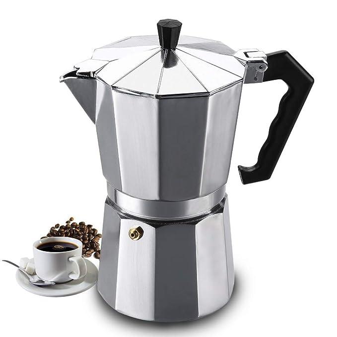Heyu - Cafetera de café Expresso Italiano en casa, Material de ...