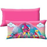 Body Pillow DreamWorks Trolls Reversible Kids Birthday Gift Bedroom Decoration