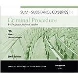 Sum and Substance Audio on Criminal Procedure