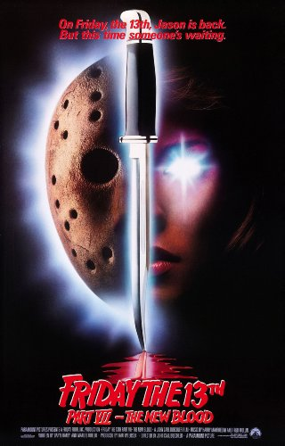 Friday the 13th Part VII: The New Blood  Movie Poster 24x36