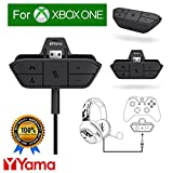 Stereo Headset Headphone Audio Game Adapter For Microsoft Xbox One Controller YamaMarket