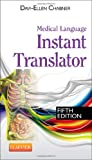 Medical Language Instant Translator, Chabner, Davi-Ellen, 1455758310