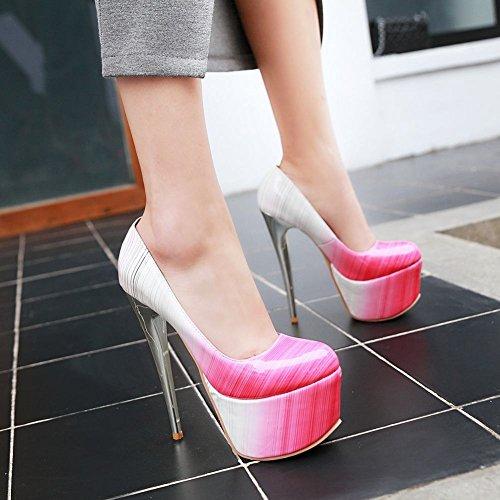 Charme Voet Dames Sexy Platform Hoge Hakken Stiletto Roze