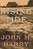 Front cover for the book Rising Tide: The Great Mississippi Flood of 1927 and How It Changed America by John M. Barry