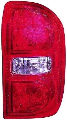 for 2004-2005 Toyota RAV4 Rear Tail Light Lamp Assembly Housing // Lens // Cover Right Side 81551-42080 TO2819124 Replacement Passenger Go-Parts