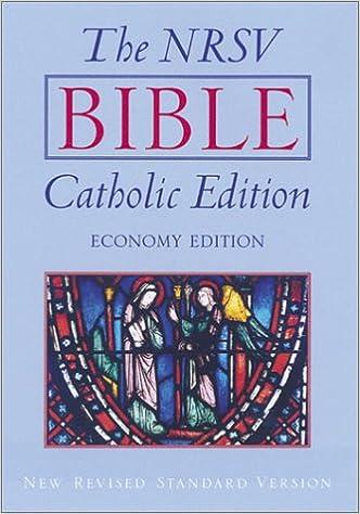 The Bible: Catholic Edition: Economy Edition