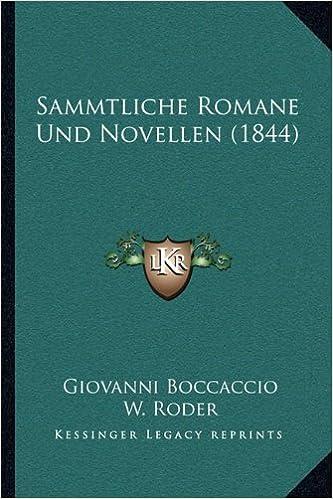 Romane & Novellen (German Edition)