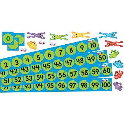 Frog Pond Number Line - Frog Pond Number Line by Trend Enterprises