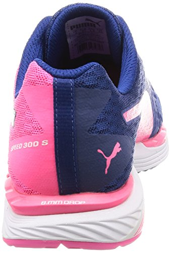 knockout 300 Blu puma Scarpe Da Blue Ignite Wn Pink true Corsa White Donna Puma S 01 Speed zx6q7B