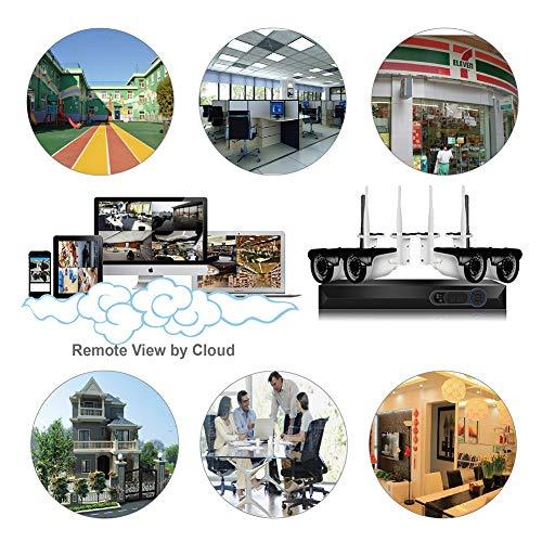 CAMVIEW 4CH 2592x1520P Wireless Security CCTV Surveillance