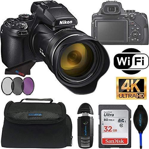 COOLPIX P1000 Digital Camera with 125X Optical Zoom + Pixibytes Pro Bundle