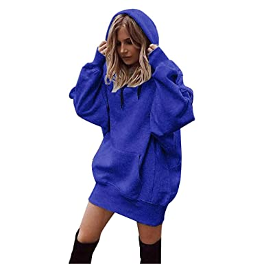 classique professionnel beaucoup de choix de ZEZKT Sweats à Capuche Femme, Hoodie Sport Sweat-Shirts Robe Pull Fille  Sweat Capuche Grande Taille Veste à Manches Longues Hiver Sweatshirt ...