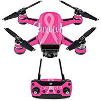 Skin for DJI Spark Mini Drone Combo - Survivor| MightySkins Protective, Durable, and Unique Vinyl Decal wrap cover | Easy To Apply, Remove, and Change Styles | Made in the USA