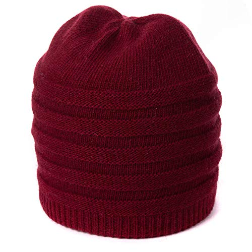 Rancheng Warm Knit Hat Red...