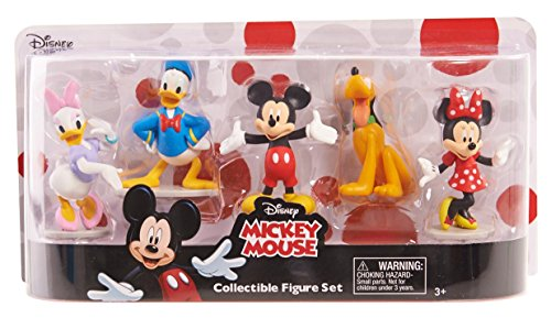 MICKEY ROADSTERS Just Play Mickey Collectible Figure set figures Toy Figure Minnie Mouse Figurine