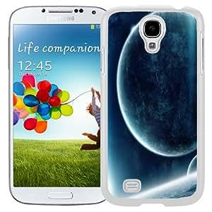 Fashion Custom Designed Cover Case For Samsung Galaxy S4 I9500 i337 M919 i545 r970 l720 Big Planet White Phone Case