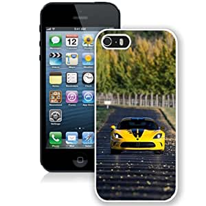 Auto Car Road Scene (2) Hard Plastic iPhone 5 5S Protective Phone Case