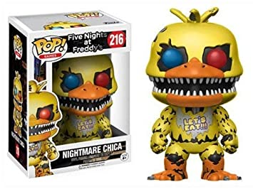 Funko POP Games Five Nights at Freddy's Nightmare Chica Action Figure