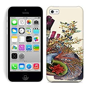 Best Power(Tm) HD Colorful Painted Watercolor Adore Anatomical Heart Lungs Collage By Bedelgeuse Hard Phone Case For Iphone 5C