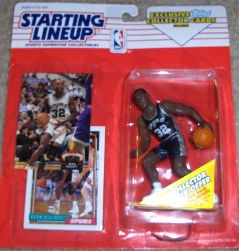 1993 Sean Elliott San Antonio Spurs Kenner SLU Starting Lineup NBA - Antonio San Outlets