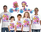 Bubble Guppies Birthday Shirt, ADD any name and age, Bubble Guppies Birthday Party, FAMILY Matching Shirts, Girl Birthday Shirts, Guppies Birthday Shirt, Bubble Guppies Girl Shirt, (BG-girl-F)