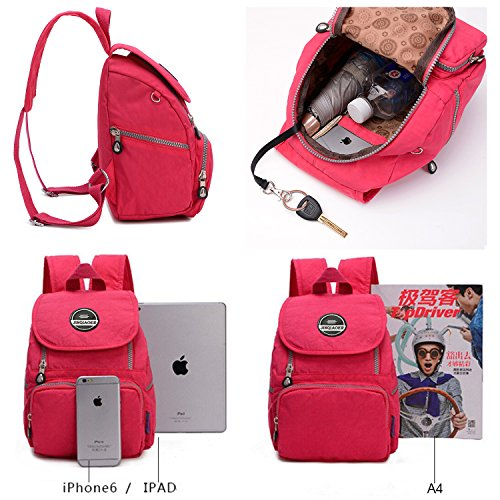 girls Daypacks Nylon LifeWheel Waterproof Rucksacks Red1 Womens Bags Backpack Mini Watermelon Schoolbag pXw5qU605