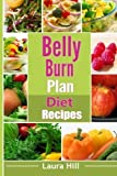 belly burn plan diet recipes: recipes to help you burn belly fat fast by hill, laura (2015) [paperback]