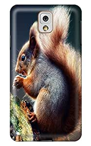 CaseandHome Praying Squirrel Design PC Material Hard Case For Samsung Galaxy N9000 Note 3