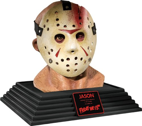 [Friday The 13th Jason Voorhees Display Bust Party Decoration] (Jason Voorhees Statue)